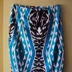 dzianinowa spódnica we wzorki