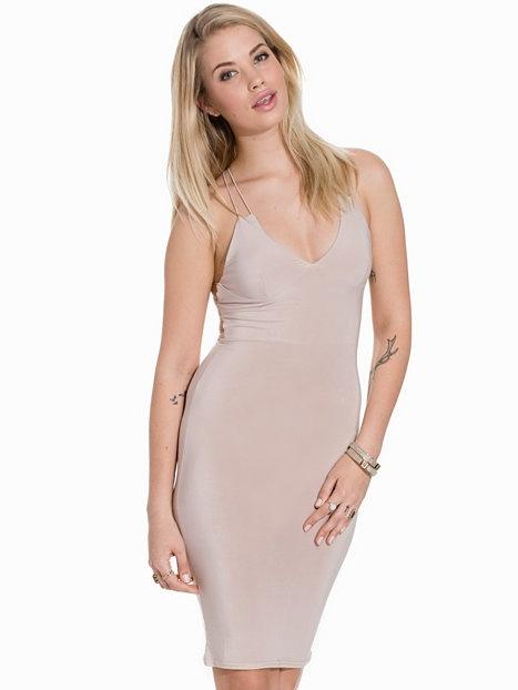 bfa861c67d Nelly nowa sukienka nude cienkie ramiączka kylie w Suknie i sukienki ...
