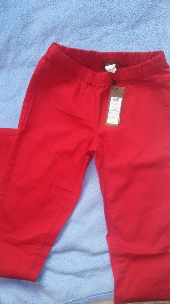 Spodnie spodnie czerowne