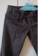 Zara Spodnie rurki kant S