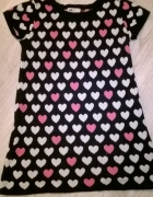 H&M Tunika sweterek sukienka 158 164 12 14