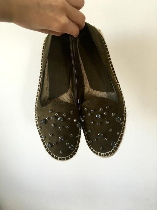 Balerinki Stradivarius nowa kolekcja botki buty espadryle 38