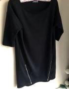 Mała czarna sukienka z zipami