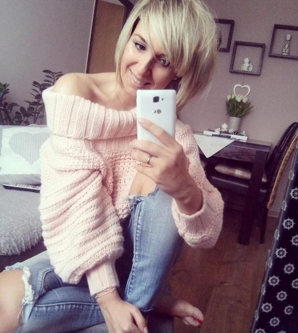 Codzienne Jeansy i sweter