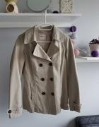 Beżowa kurtka wiosenna rozmiar S