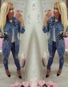 katana jeans spodnie naszywki