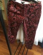 Spodnie cygaretki H&m kolorowe