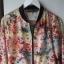 Kurtka bomber Zara floral kwiaty bomber jacket