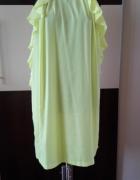Neonowa sukienka H&M rozm S