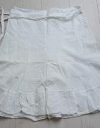 Biała letnia spódnica XL