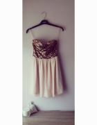 cekinowa sukienka XS