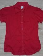 Czerwona koszula Only