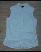 Biała koszula bez rękawów H&M