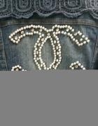 kurteczka jeansowa Chanel 36