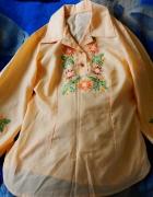 Bluzka ręcznie haftowana