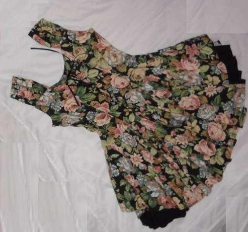 Ubrania Sukienka rozkloszowana floral kwiaty Lana Del Rey