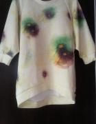 bluza w kwiaty Zara 36