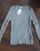 Bluzka H&M z długim rękawem