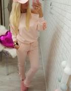 dresik różowy dres pink flbanka ramię r uniwersaln...