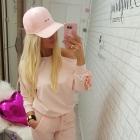 dresik różowy dres pink flbanka ramię r uniwersaln