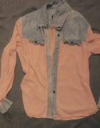Koszula mgiełka jeansowa S M