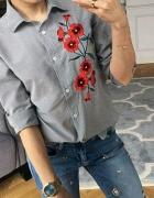 Śliczna koszula kwiaty
