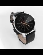 Zegarek Damski Czarno Złoty Nowa Kolekcja