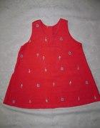 Adams sukienka roz 9 12 msc 80 cm