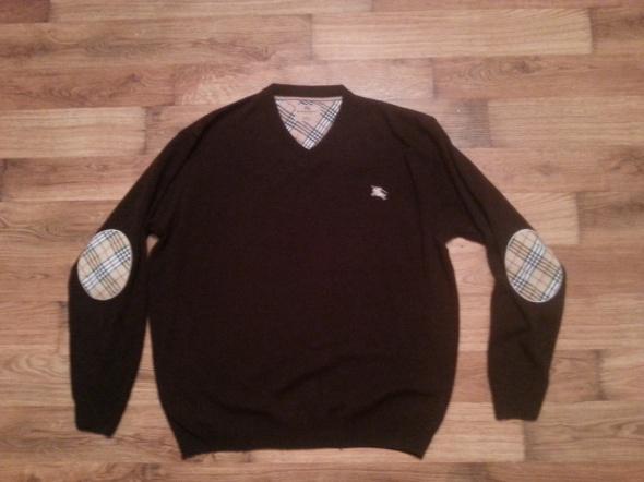 Swetry Sweter męski z logiem Burberry 3XL