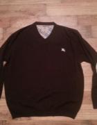 Sweter męski z logiem Burberry 3XL...