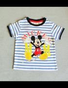 Bluzka Disney z krótkim rękawkiem Myszka Miki 98cm