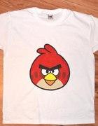 Tshirt dziecięcy z nadrukiem Angry Birds Czerwony