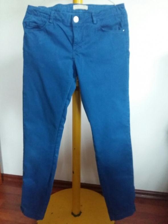 Spodnie i spodenki Spodnie niebieskie Zara dla dziewczynki