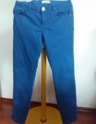 Spodnie niebieskie Zara dla dziewczynki...
