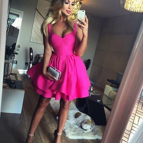 Sukienka Lou Nadia różowa XS