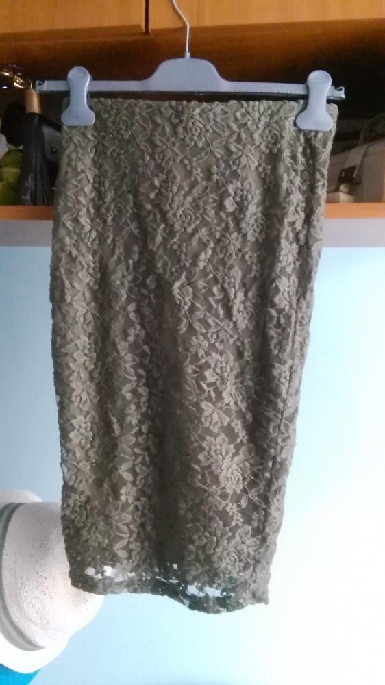 Spódnice ołówkowa spódniczka khaki