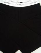 Legginsy Calvin Klein sciagacze czarne rozm M