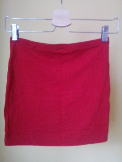 Spódnice Czerwona spódnica H&M XS