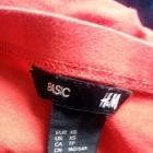 Czerwona spódnica H&M XS