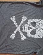 H&M Modna bluzeczka Tshirt z flower design Nowa