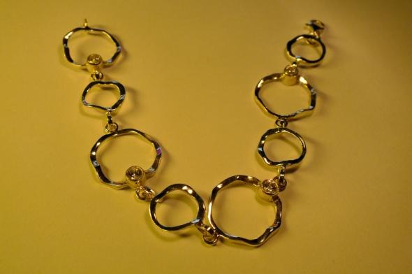 Bransoletki cudna srebrna bransoletka Apart część kompletu