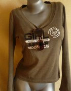 Damska bluzka ciemnozielona 38 40
