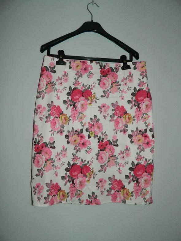 Spódnice spódnica w kwiatki PRIMA TOP