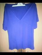Bluzka kolor fiolet nietoperz