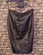 Ołówkowa Spódnica Skórzana