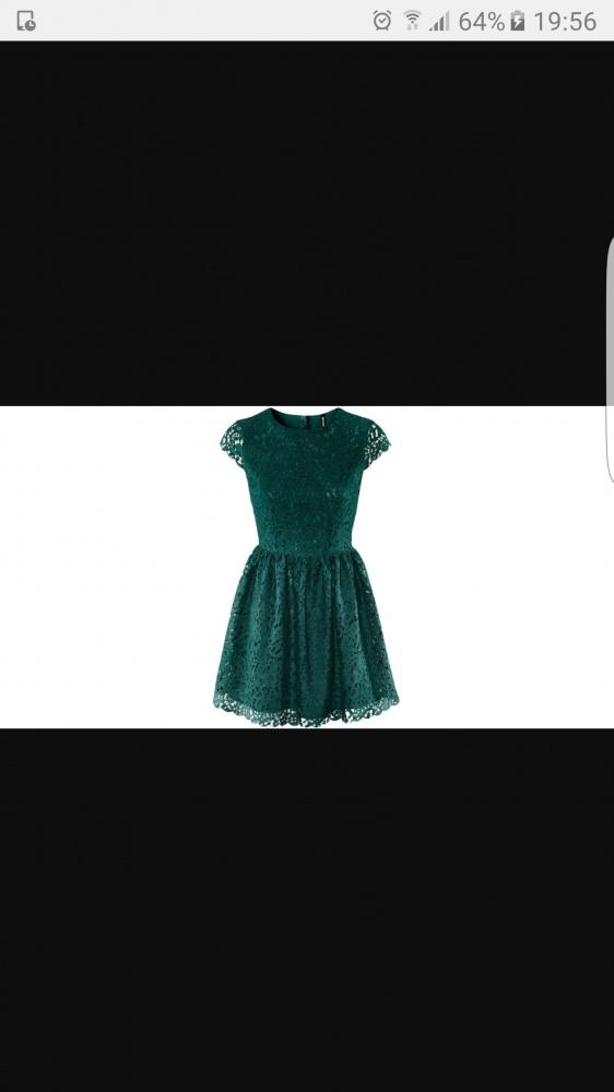 Ubrania Sukienka h&m zielona