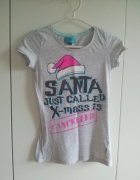 Szara koszulka Santa rozm S