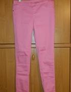 różowe spodnie rozmiar 38 M