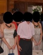 Sukienka ecrue rozkloszowana
