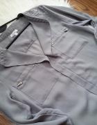 nowa koszula bluzka koronka elegancka xs s
